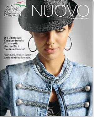 Каталог Alba Moda Nuovo весна-лето 2010