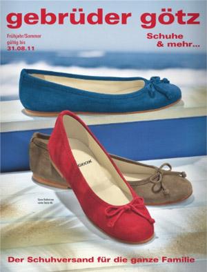 Женская, мужская и детская обувь по каталогу Gebruder gotz весна-лето 2011