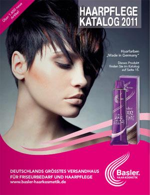 Средства по уходу за волосами и кожей Basler Haarpflege 2011