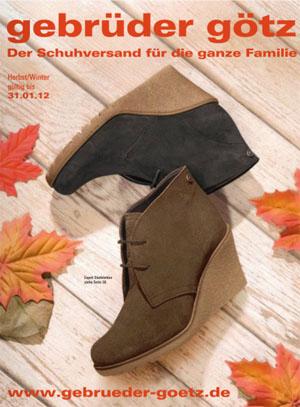 Он-лайн каталог Gebruder gotz осень-зима 2011/12